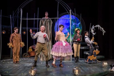"""""""A Midsummer Night's Dream"""" by Shakespeare, at American Players Theatre in Spring Green, Wisc., through Oct. 8. (Photo by Liz Lauren)"""
