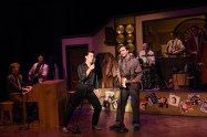 """Million Dollar Quartet,"" by Floyd Mutrux and Colin Escott, at Centre Stage in Greenville, S.C. through Aug. 12. (Photo by Wallace Krebs Photography)"