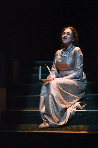 """Jenny Lester in """"Miss Bennet: Christmas at Pemberley,"""" by Lauren Gunderson and Margot Melcon, at American Stage Company in St. Petersburg, Fla., through Dec. 30."""