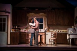 """Outside Mullingar"" by John Patrick Shanley, at Clarence Brown Theatre in Knoxville, Tenn., through Feb. 19. Pictured: Katie Cunningham and Richard Price. (Photo by Brynn Yeager)"