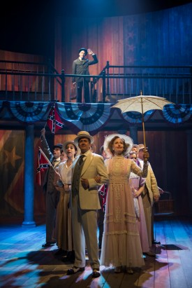 """""""Parade,"""" by Alfred Uhry, Jason Robert Brown, and Harold Prince, at Writers Theatre in Chicago through July 2. (Photo by Michael Brosilow)"""