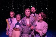 """Silent Sky"" by Lauren Gunderson, at Boulder Ensemble Theatre Company in Boulder, Colo., through April 30. Pictured: Karen LaMoureaux, Leslie O'Carroll, Anastasia Davidson, Austin Terrell, and Rachel Turner. (Photo by Michael Ensminger)"