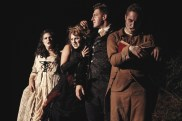 """""""The Sleepy Hollow Experience"""" adapted by Brian Clowdus from Washington Irving, at Serenbe Playhouse in Chattahoochee Hills, Ga., through Nov. 6. (Photo by BreeAnne Clowdus)"""