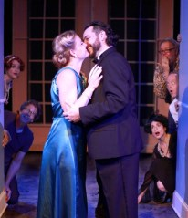 """Stage Kiss"" by Sarah Ruhl, at Actor's Theatre of Charlotte in Charlotte, N.C."
