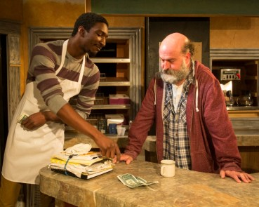 """""""Superior Donuts"""" by Tracy Letts, at Maryland Ensemble Theatre in Frederick, Md. in 2016."""