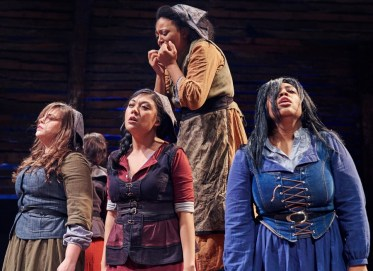 """""""The Crucible"""" by Arthur Miller, at Actor's Express in Atlanta in 2017. (Photo by Christopher Bartelski)"""