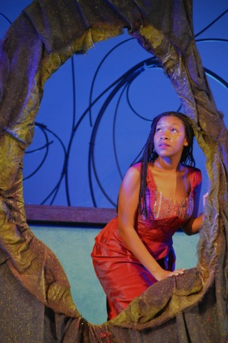 """The Little Mermaid,"" by Alan Menken, Howard Ashman, Glenn Slater, and Doug Wright, at Rose Theater in Omaha, Neb., through June 26. Pictured: Torisa Walker. (Photo by Alex Myhre)"