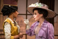 """The Violet Hour"" by Richard Greenberg, at Renaissance Theatreworks in Milwaukee through April 30. Pictured: Marti Gobel and Cara Johnston. (Photo by Ross E. Zentner)"