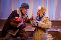 """""""The Winter's Tale"""" by Shakespeare, at the Gamm Theatre in Pawtuckett, R.I., through May 29. Pictured: Mark S. Cartier and Marc Dante Mancin."""