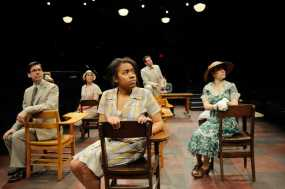 """""""To Kill a Mockingbird,"""" adapted by Christopher Sergel from Harper Lee, at Trinity Rep in Providence, R.I., through April 3. (Photo by Mark Turek)"""