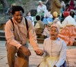 """""""Tom,"""" adapted by Ellen Geer from Harriet Beecher Stowe, at Will Geer's Theatricum Botanicum in Topanga, Calif., through Oct. 1. Pictured: Durant Fowler and Jasmine Gatewood. (Photo by Ian Flanders)"""