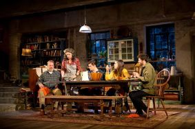 """Tribes"" by Nina Raine, at Barrington Stage Company in Pittsfield, Mass., through Sept. 3."