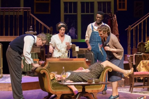 """You Can't Take It With You,"" by George S. Kaufman and Moss Hart, at A.D. Players Theater in Houston through May 28."