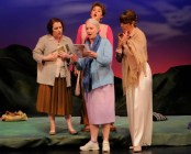 """Calendar Girls"" by Tim Firth, at Georgia Ensemble Theatre in Roswell, Ga., in 2015."