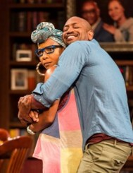 """Immediate Family"" by Paul Oakley Stovall, at Center Theater Group in Los Angeles through June 7. Pictured: J. Nicole Brooks and Bryan Terrell Clark."