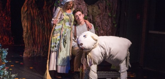 """Into the Woods"" by James Lapine and Stephen Sondheim, at Theatre Workshop of Nantucket in Nantucket, Mass., through Aug. 29."