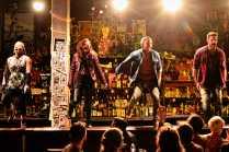 """Murder Ballad"" by Julia Jordan and Juliana Nash, at Studio Theatre in Washington, D.C., through May 16. PIctured: Anastacia McCleskey, Christine Dwyer, Tommar Wilson and Cole Burden. (Photo by Vithaya Phongsavan)"