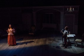 """Or,"" by Liz Duffy Adams, at Dobama Theatre in Cleveland, Ohio through Oct. 4."