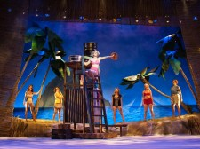 """South Pacific"" by Richard Rodgers, Oscar Hammerstein II, and Joshua Logan, at the Virginia Repertory Theatre in Richmond, Va., through Aug. 9. Pictured: Stacey Cabaj and cast. (Photo by Aaron Sutten)"