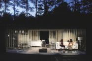 """Deborah Bowman and Ann Marie Gideon Knezevich in """"A Streetcar Named Desire"""" at Serenbe Playhouse. (Photo by BreeAnne Clowdus)"""