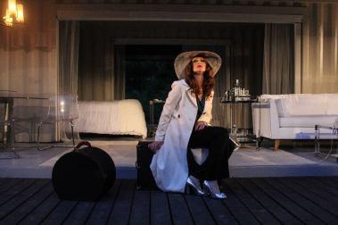"Deborah Bowman in ""A Streetcar Named Desire"" at Serenbe Playhouse. (Photo by BreeAnne Clowdus)"