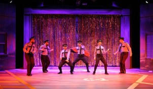 """""""The Full Monty"""" by Terrence McNally and David Yazbek, at the Human Race Theatre Company in Dayton, Ohio through Oct. 4."""