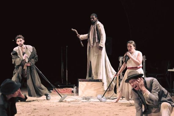 """""""The Tempest"""" by William Shakespeare, at Hudson Valley Shakespeare Festival in Garrison, N.Y., through Sept. 1."""