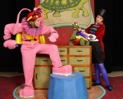 """""""The Tortoise, the Hare & Other Aesop's Fables,"""" adapted by Michael Haverty from Aesop, at Center for Puppetry Arts in Atlanta, through Sept. 20. (Photo by Rod Reilly)"""
