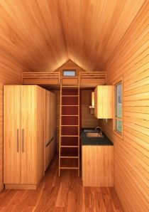 Nashville Interior View 2 American Tiny House