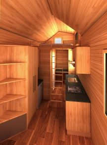 Pensacola American Tiny House Interior Inside