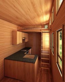 Phoenix American Tiny House Interior