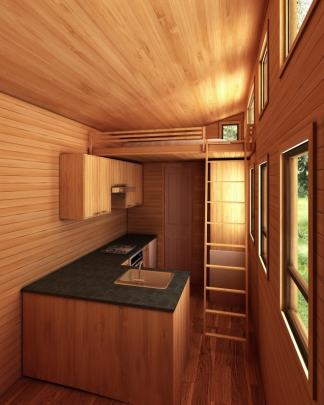 Phoenix American Tiny House Interior