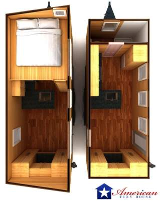 Phoenix Interior American Tiny House Overview