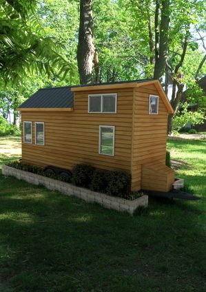 Rochester American Tiny House Rear