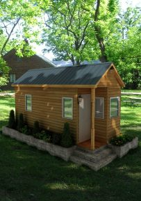 Rochester American Tiny House Front