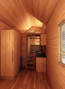 Rochester American Tiny House Interior View