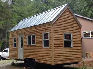 American Tiny House Trailer Simple