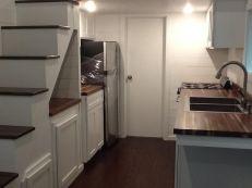 American Tiny House San Francisco Kitchen cabinets