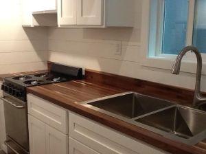 American Tiny House San Francisco Sink Area