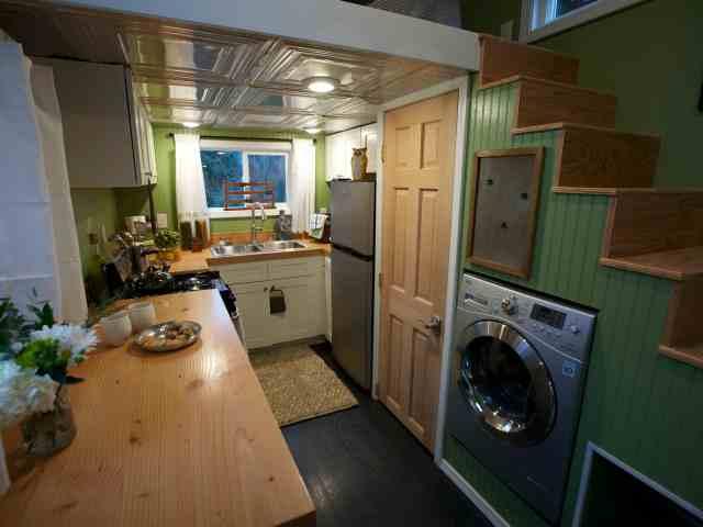 Interior American Tiny House