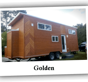 American Tiny House - Golden External