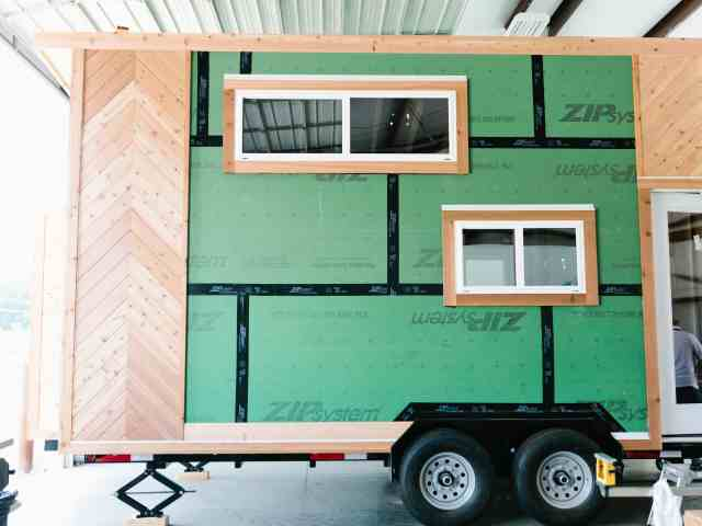 Golden under Construction About Us American Tiny House