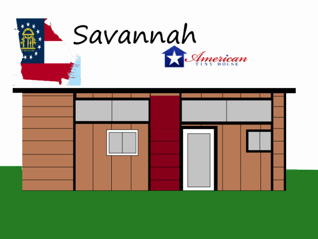 Savannah-Mockup American Tiny House