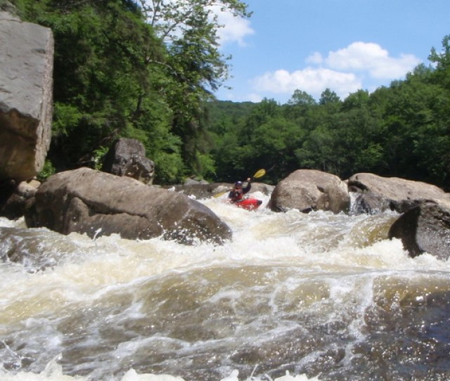The Upper Yough Release Season Brings Hundreds Of Paddlers To The Town Of Friendsville Md On Fridays Saturdays And Mondays The Crowded Takeout At The