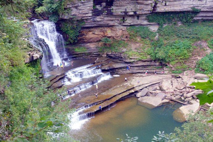 Cummins Falls Overlook View