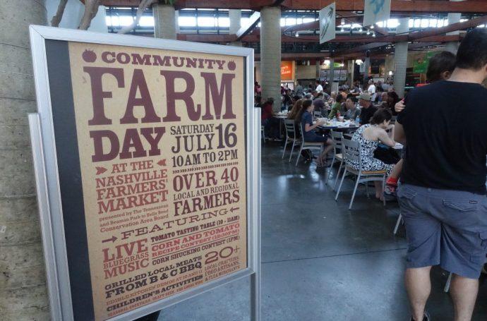 Nashville Farmers Market Farm Day
