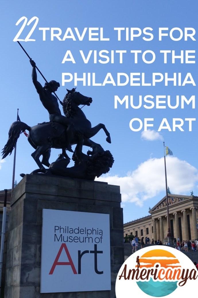 Philadelphia Museum of Art 22 Travel Tips Pin