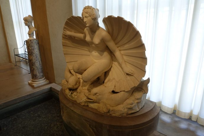 Philadelphia Museum of Art Birth of Venus Sculpture