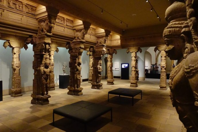 Philadelphia Museum of Art Pillared Temple Hall