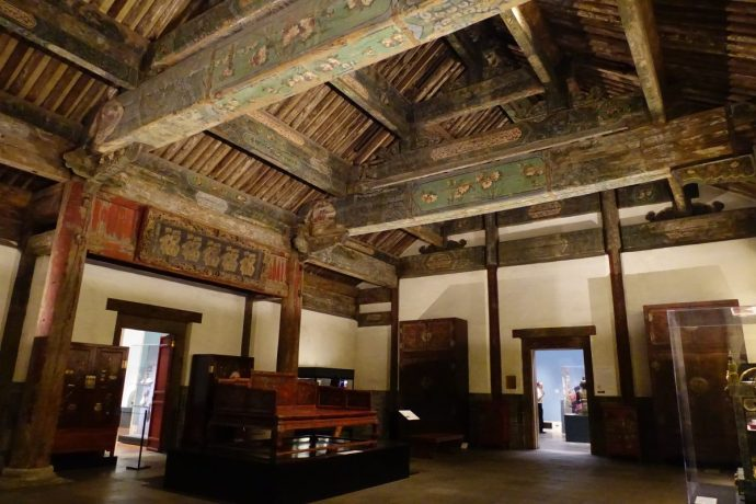 Reception Hall from the Palace of Duke Zhao